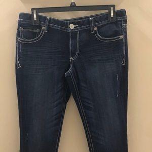 Express Jeans-Legging Stella Lowrise Size12R
